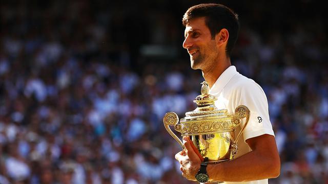 'Daddy, daddy', hoort Djokovic voor het eerst op Wimbledon