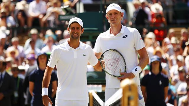 So lief das Wimbledon-Finale: Djokovic dominiert gegen Anderson