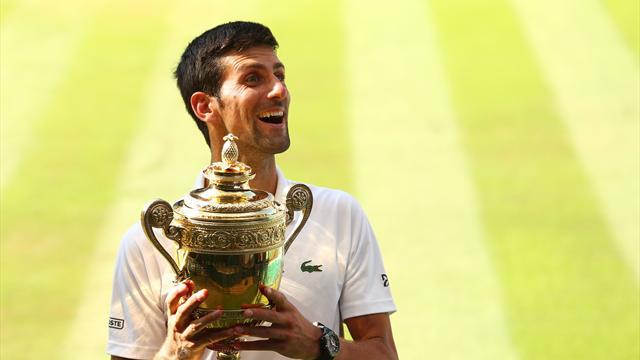 Djokovic, au nom du fils