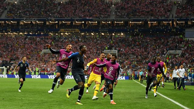 """4:2 - Vive la France! Frankreich holt zweiten WM-Titel: """"Zu schön, zu wunderbar!"""""""