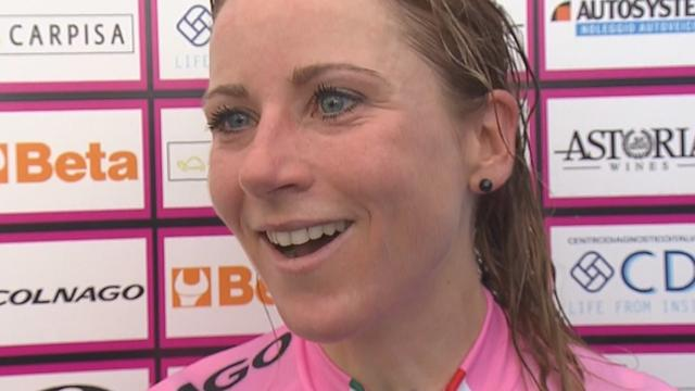 'For my whole team' - Van Vleuten pays tribute to those around her after Giro victory
