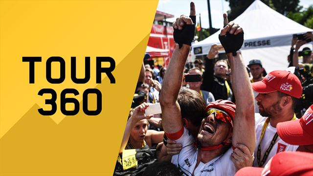 """""""Tour 360"""": Pavè, pavè, pa… Degenkolb! Tutto il meglio e il dietro le quinte della 9a tappa"""