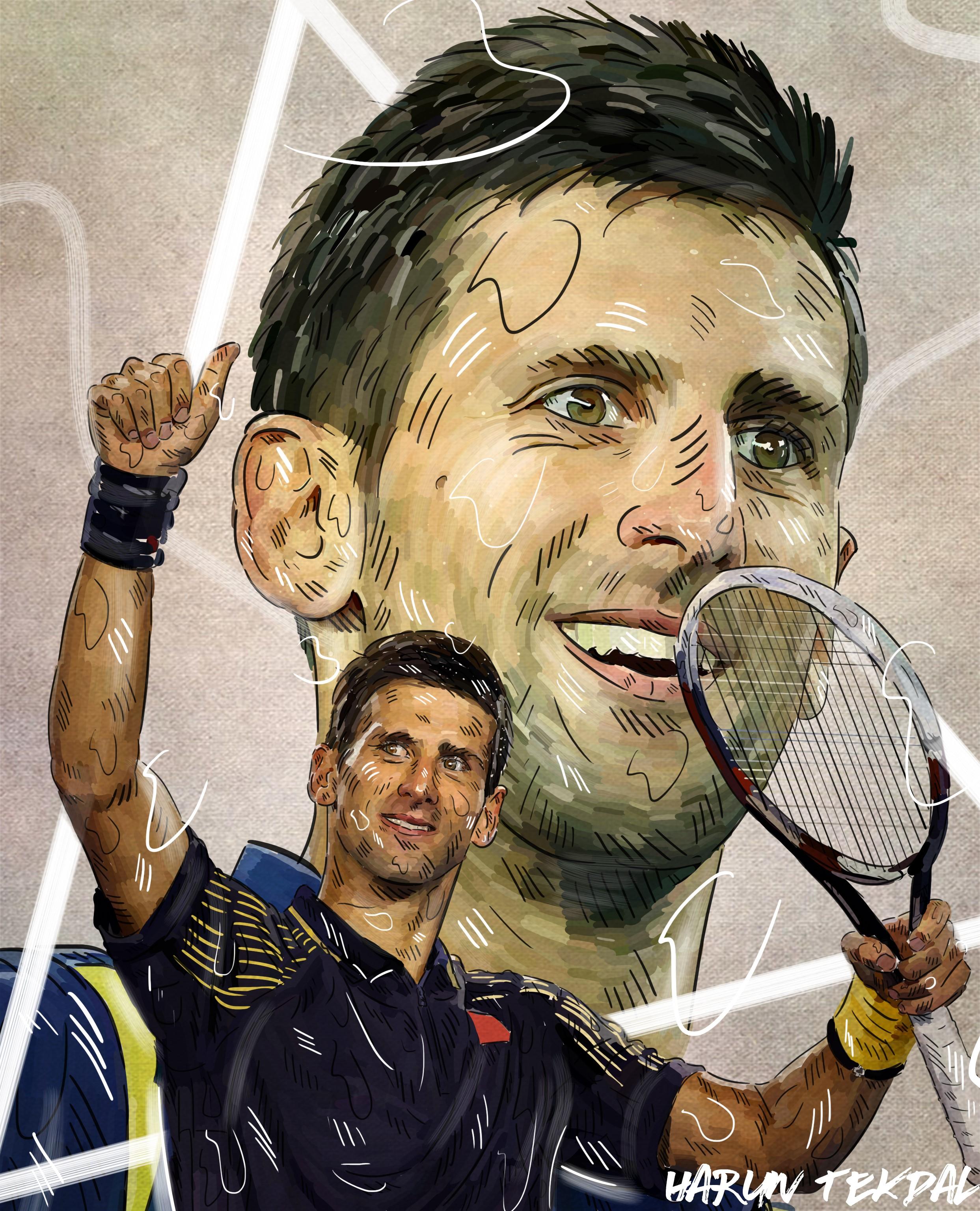 Novak Djokovic - Wimbledon 2018 (Harun Tekpal)