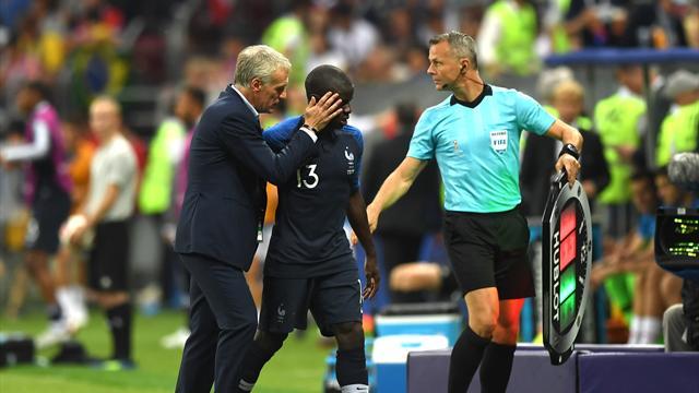 """Deschamps revient sur la finale manquée de Kanté : """"Ce changement, je dois le faire"""""""