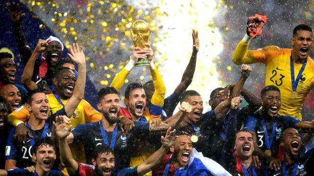 Les Bleus ont remporté la Coupe du monde devant... 1,12 milliard de téléspectateurs !