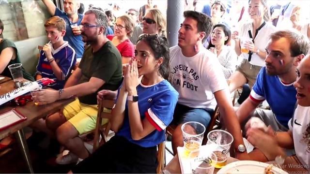 Mundial Rusia 2018: De los nervios a la alegría, así vivieron los franceses la final ante Croacia