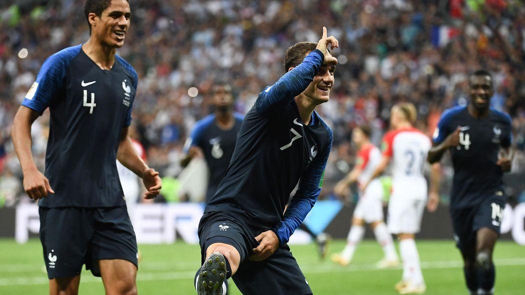 France Croatie 4 2 Burruchaga 60 Ans Zero Selection Les Sept