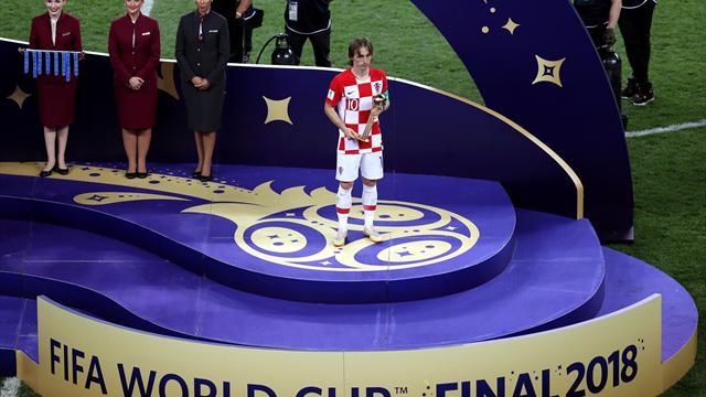 Mundial Rusia 2018: Luka Modric gana el Balón de Oro a mejor jugador