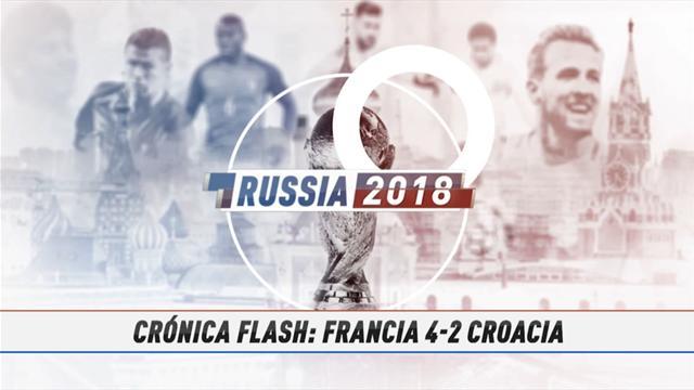 VÍDEO MUNDIAL 2018: Resumen del Francia-Croacia
