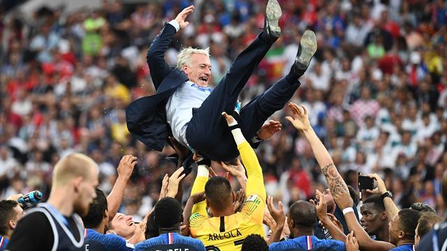 55 jours de boulot, Didier Deschamps estime avoir bien bossé — EdF