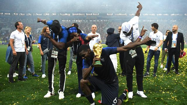From Pogba dabbing to Macron losing it: How France celebrated World Cup victory