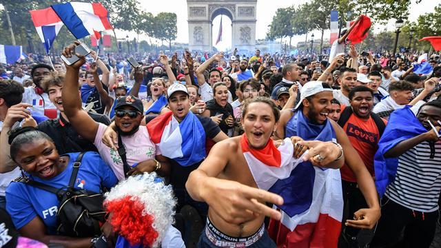 Roissy, les Champs, Macron : le programme des Bleus lundi
