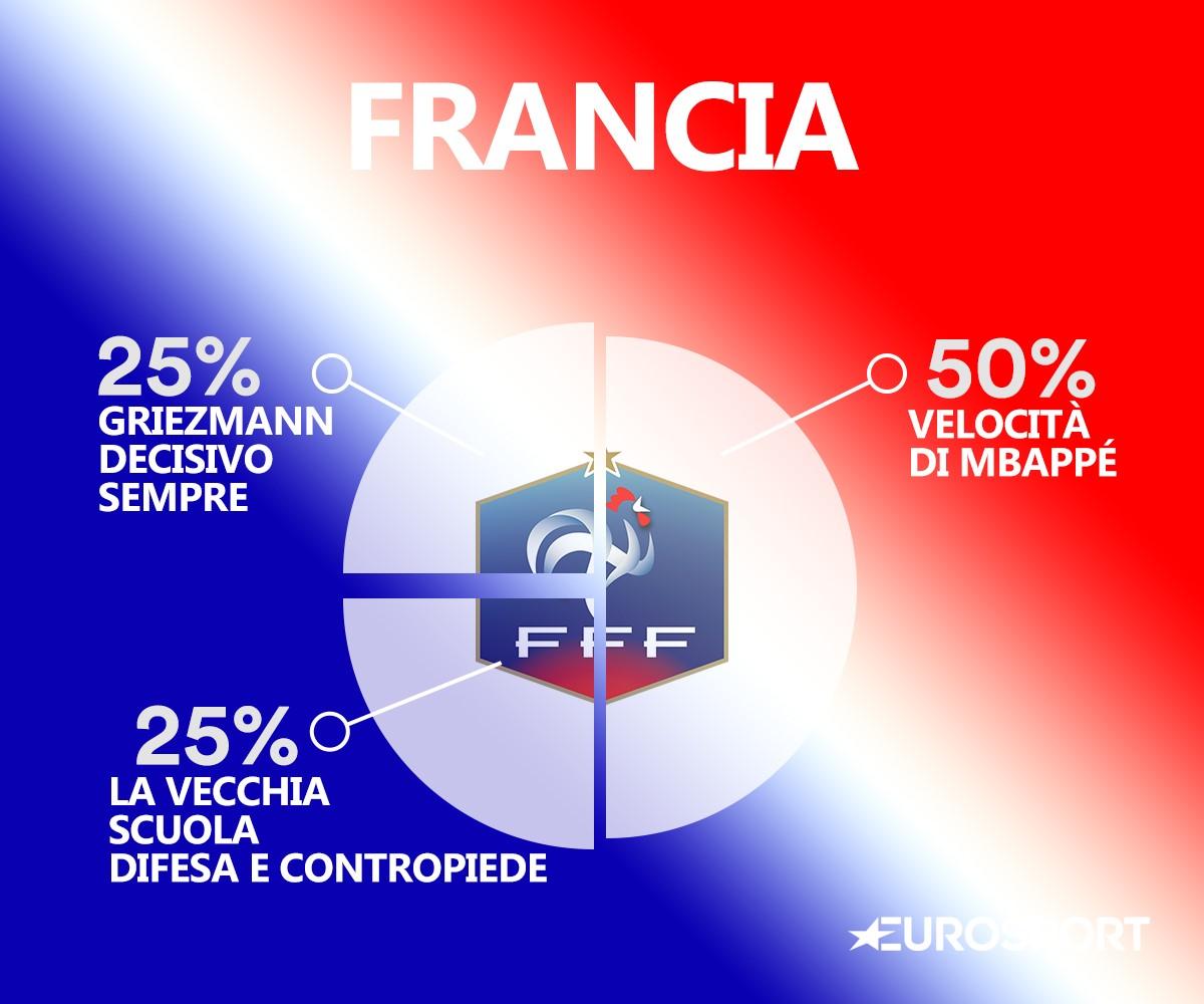 Il DNA della Francia