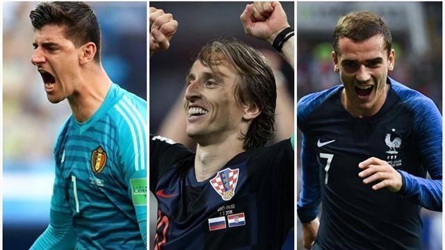 Mundial Rusia 2018: El mejor once del torneo