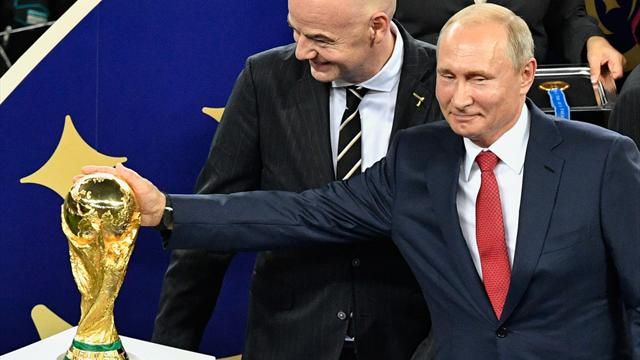 World Cup verdict: Vlad's big knees-up was bloody fun, a galaxy VAR away from football as we know it