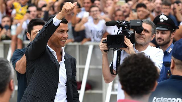 """Ronaldo : """"Laisser mon empreinte à la Juve"""""""