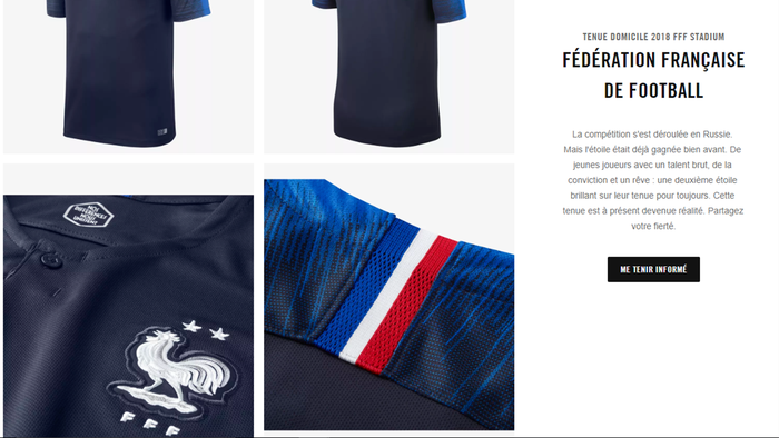 dirt cheap fast delivery details for Pour avoir votre maillot deux étoiles des Bleus, il faudra ...
