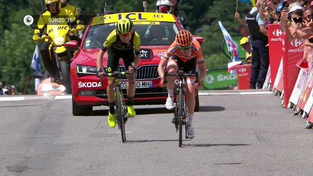 La course by Le Tour : Van Vleuten, quel finish !