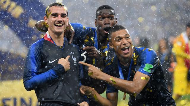 Pogba : «Griezmann, Mbappé et Varane méritent le Ballon d'Or, beaucoup plus que moi»