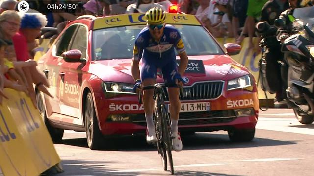 Alaphilippe produces solo masterclass to win Stage 10