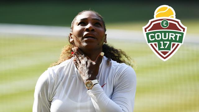 «Ce n'était pas encore la vraie Serena à Wimbledon»