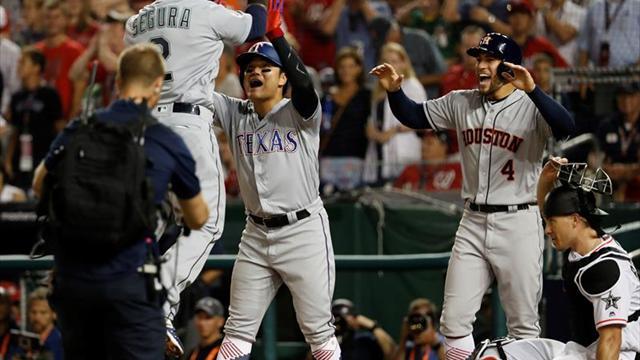 Liga Americana mostró su poderío en Juego de Estrellas