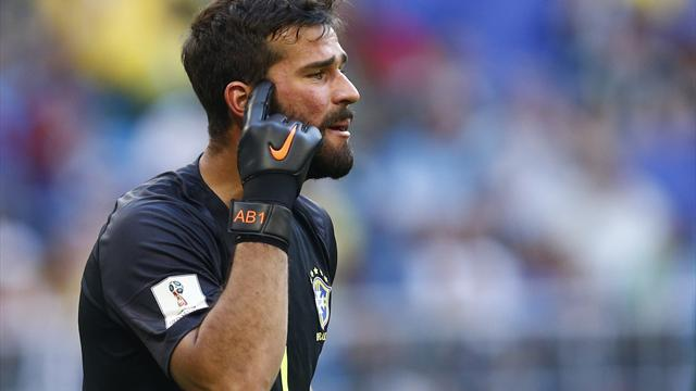 Liverpool agree world record £66.9m fee for Alisson, medical set for Thursday