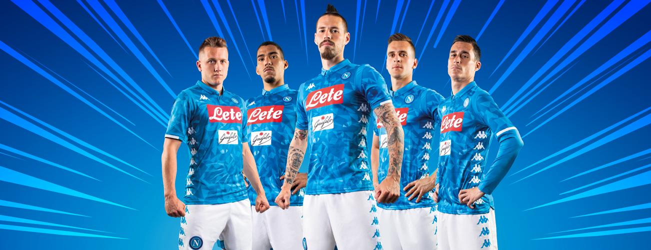 Le Napoli version 2018/19
