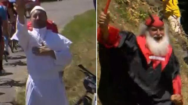 """Zwischen Himmel und Hölle: Segen vom Papst, """"Feuer"""" vom Teufel"""