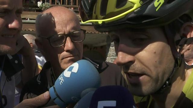 """Tour de Francia2018, Mikel Nieve: """"Una pena viéndolo tan cerca. Lo he intentado todo"""""""