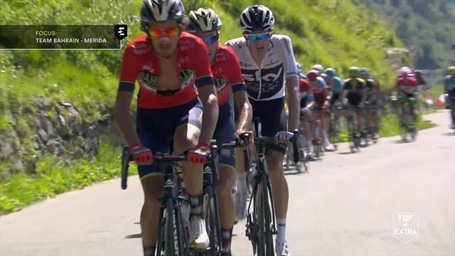Tour de France: i momenti chiave dell'undicesima tappa, strapotere del Team Sky