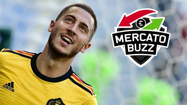 Oubliez Chelsea et le Real, Hazard aurait changé de destination
