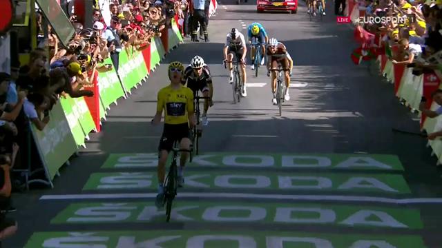 Che spettacolo Geraint Thomas! La maglia gialla doma l'Alpe d'Huez, secondo Dumoulin, terzo Bardet