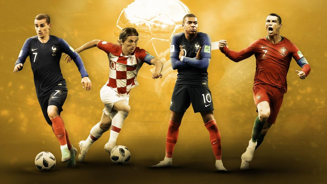 reputable site 0aeb5 d854b Griezmann, Ronaldo, Mbappé, Modric  Qui mène la course au Ballon dOr  -  Football - Eurosport