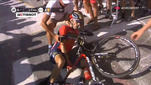 How The Race Was Won: Cause of Nibali crash revealed as Thomas wins on Alpe d'Huez