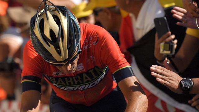 Frattura a una vertebra, per Nibali il Tour finisce qua