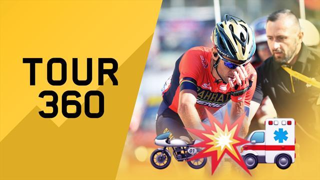 """""""Tour 360"""": Nibali, fumogeni... Che rabbia! Tutto il meglio e il dietro le quinte della 12a tappa"""
