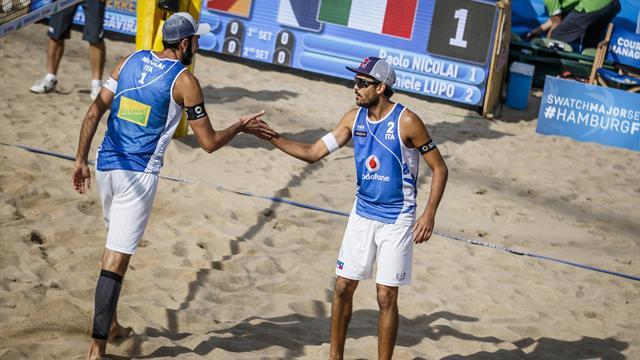 World Tour 2018: a Mosca azzurri ko ai quarti, quinto posto per Lupo/Nicolai e Menegatti/Orsi Toth