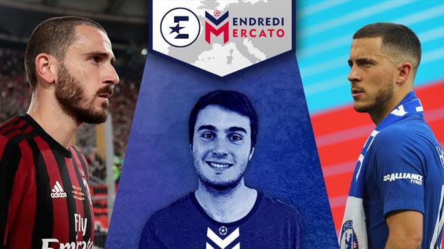 Neymar, Bonucci, Hazard et Rabiot : on en parle dans Vendredi Mercato à 13h