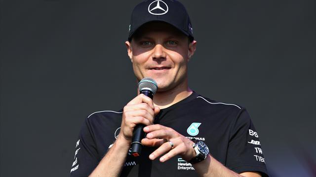 Bottas sera toujours l'équipier d'Hamilton en 2019