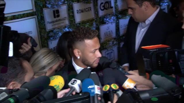 Neymar : »Je veux gagner avec Paris et j'espère qu'on fera une excellente saison»