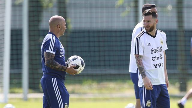 """Messi à Sampaoli : """"Tu m'as demandé dix fois avec qui je veux jouer et ne pas jouer"""""""