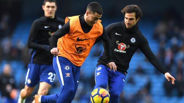 Fabregas espère convaincre Hazard de rester à Chelsea
