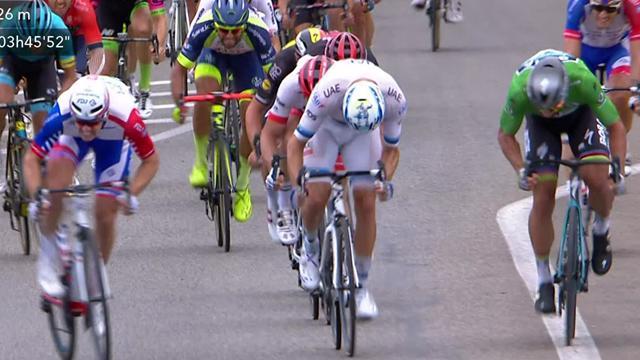 Fransa Bisiklet Turu: 13. etabın son anları