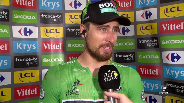 Sagan focusing on Paris after welcome calm on Stage 13