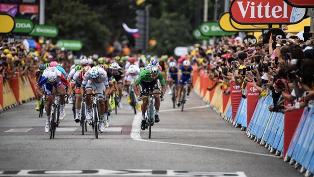 Echappées vaines, sprint attendu, Sagan en patron : les moments-clés de la 13e étape