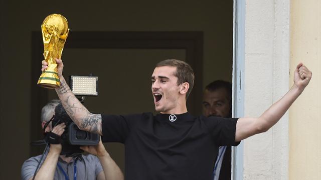 Griezmann de retour à Mâcon avec la Coupe du monde