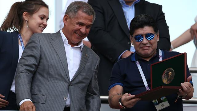 Диего Марадона будет жить вМинске вособняке за20 млн долларов