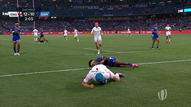 7er-Rugby-WM: England siegt knapp gegen Samoa