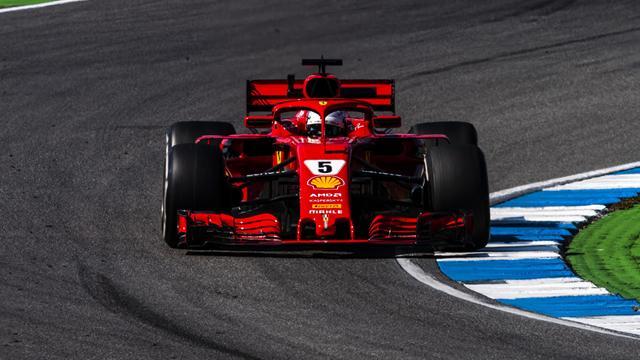 Vettel ülkesinde pole pozisyonunu kaptırmadı